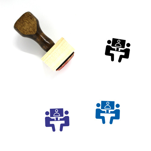 Conference Wooden Rubber Stamp No. 46