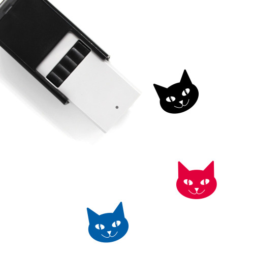 Cat Self-Inking Rubber Stamp No. 151