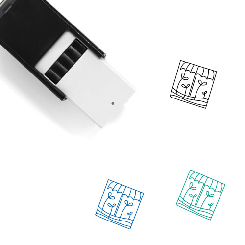 Sprouts Self-Inking Rubber Stamp No. 7