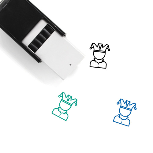 Jester Self-Inking Rubber Stamp No. 15