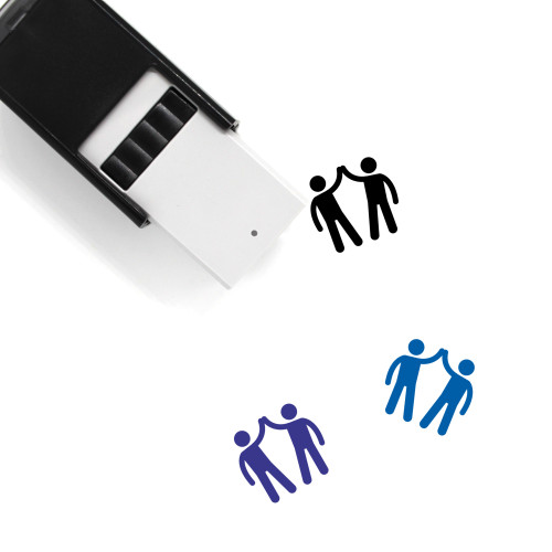 High Five Self-Inking Rubber Stamp No. 38