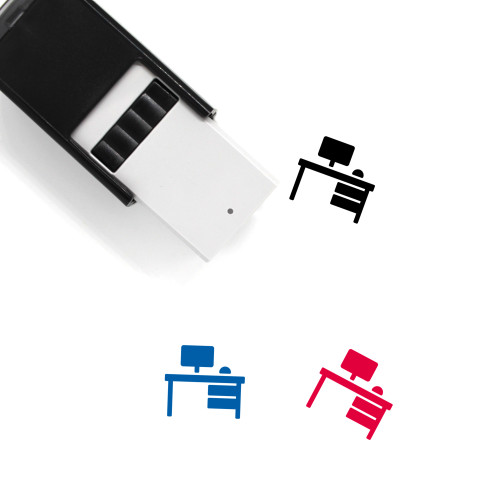 Work Table Self-Inking Rubber Stamp No. 17