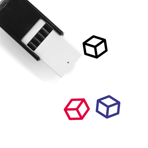 Cube Self-Inking Rubber Stamp No. 71