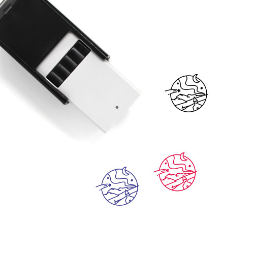 Iceland Self-Inking Rubber Stamp No. 14