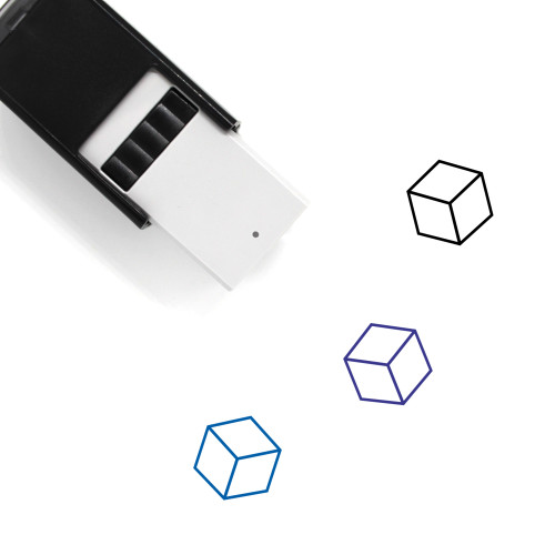 Cube Self-Inking Rubber Stamp No. 73