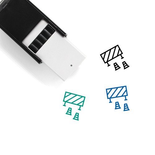 Accident Self-Inking Rubber Stamp No. 17