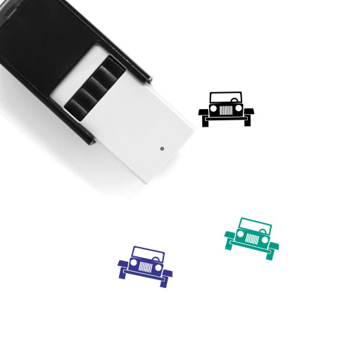 Jeep Self-Inking Rubber Stamp No. 42