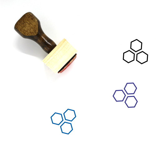 Chemical Wooden Rubber Stamp No. 9