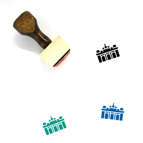 Grand Central Terminal Wooden Rubber Stamp No. 2