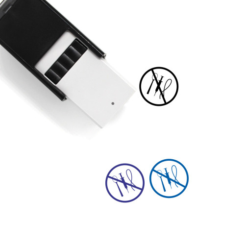 No Heroin Self-Inking Rubber Stamp No. 1