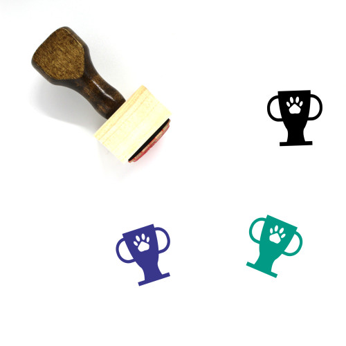 Pet Champion Wooden Rubber Stamp No. 2