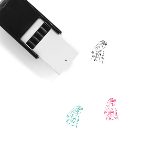 Bride Self-Inking Rubber Stamp No. 66