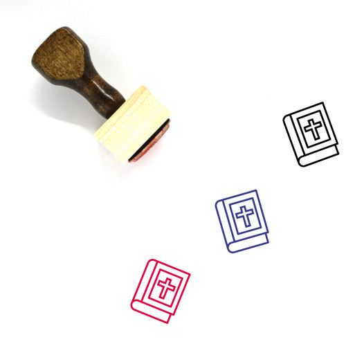 Religion Wooden Rubber Stamp No. 28