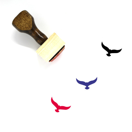 Falcon Wooden Rubber Stamp No. 6