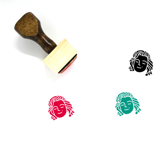 Persona Wooden Rubber Stamp No. 28