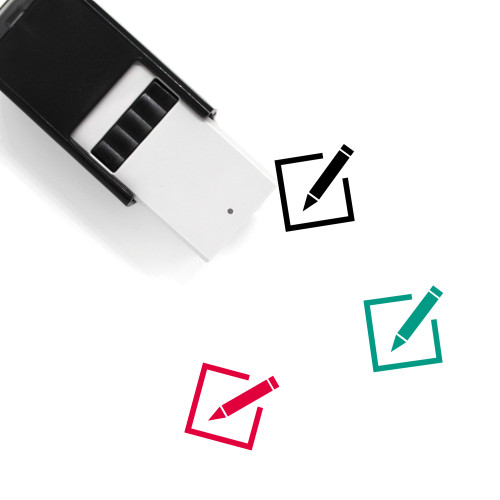 Paper Self-Inking Rubber Stamp No. 145