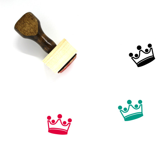 King Wooden Rubber Stamp No. 390