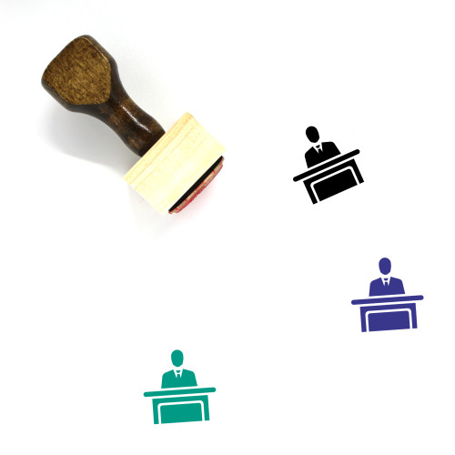 Expert Wooden Rubber Stamp No. 16