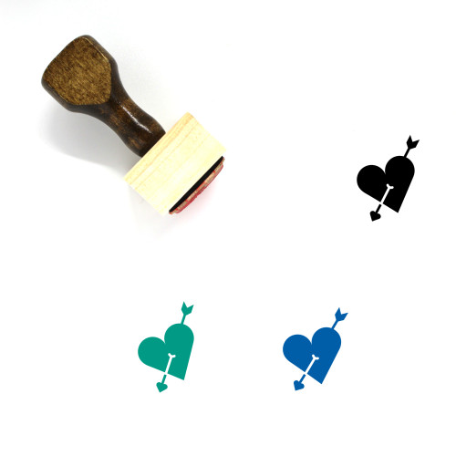 Love Wooden Rubber Stamp No. 609