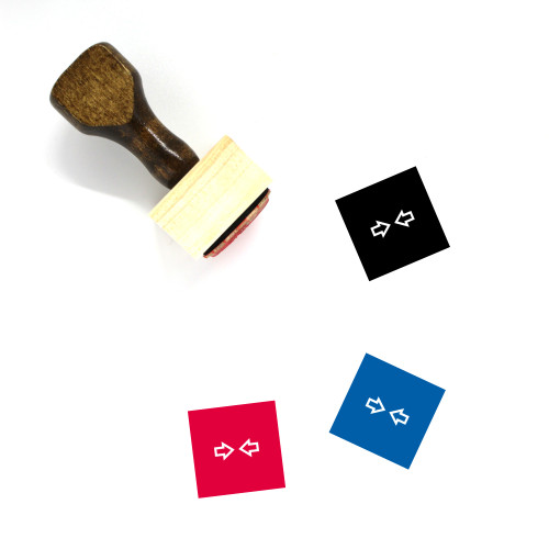 Join Wooden Rubber Stamp No. 12