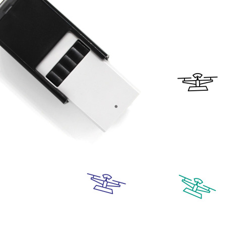 Scale Self-Inking Rubber Stamp No. 265