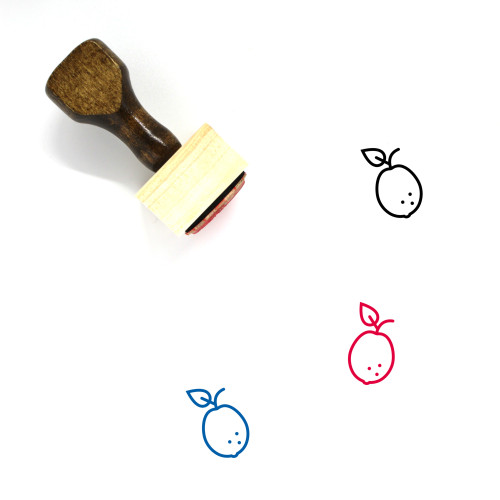 Guava Wooden Rubber Stamp No. 31