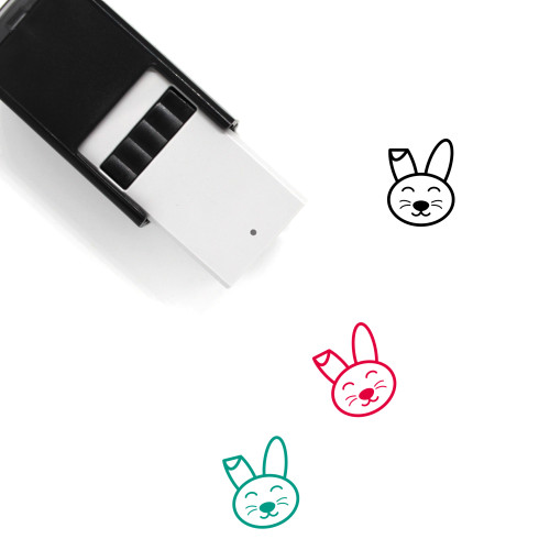 Easter Bunny Self-Inking Rubber Stamp No. 43