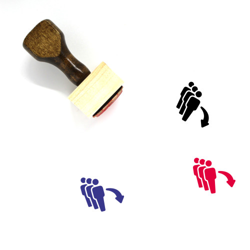 Immigration Wooden Rubber Stamp No. 7