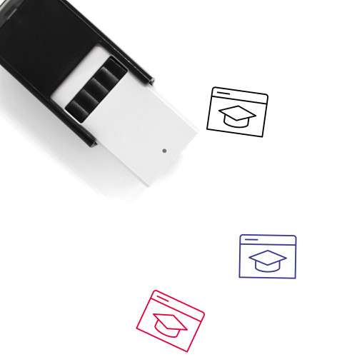 E Learning Self-Inking Rubber Stamp No. 12