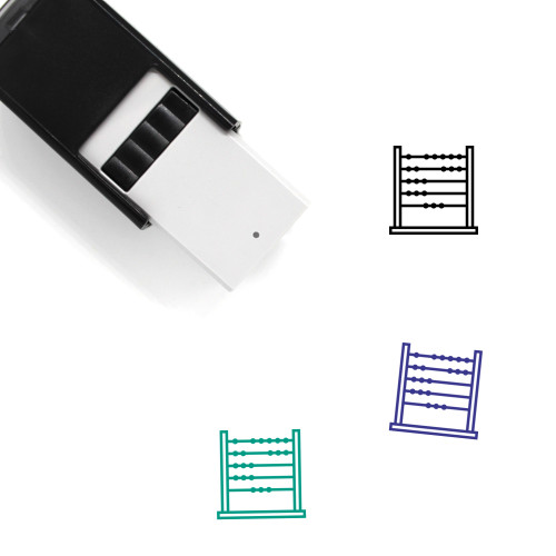 Abacus Self-Inking Rubber Stamp No. 24