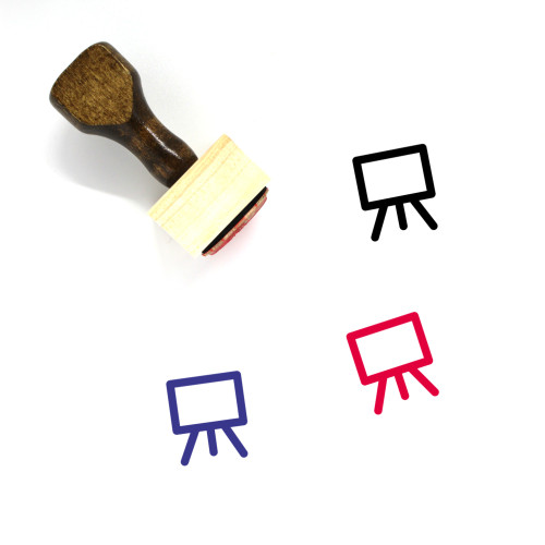 Exhibition Wooden Rubber Stamp No. 23