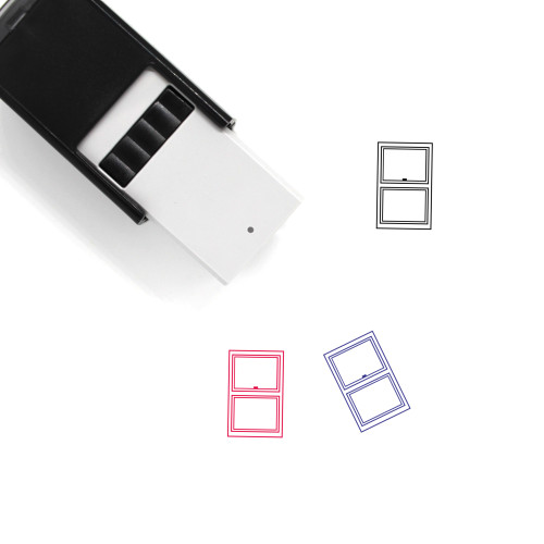 Window Self-Inking Rubber Stamp No. 119
