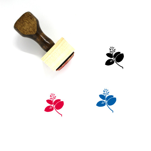Sal Wooden Rubber Stamp No. 1