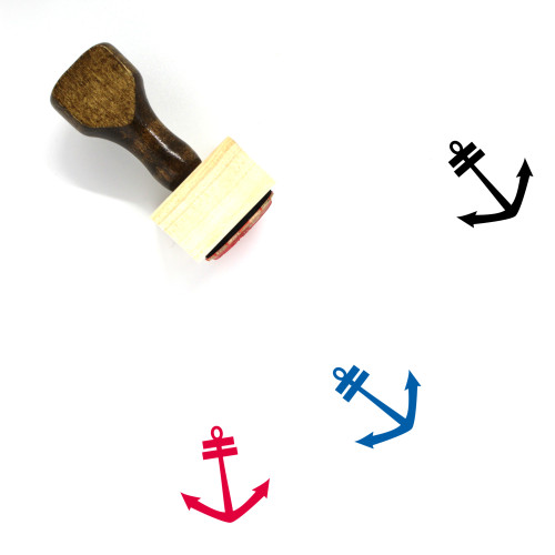 Anchor Wooden Rubber Stamp No. 586