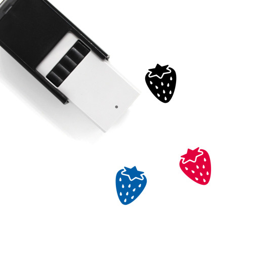 Strawberry Self-Inking Rubber Stamp No. 119