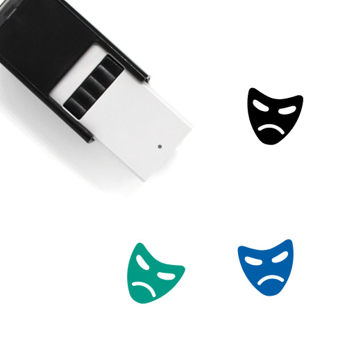 Mask Self-Inking Rubber Stamp No. 94