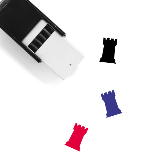 Rook Self-Inking Rubber Stamp No. 46