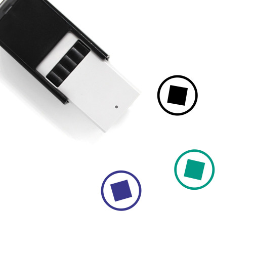 Stop Self-Inking Rubber Stamp No. 102