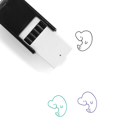 Embryo Self-Inking Rubber Stamp No. 21