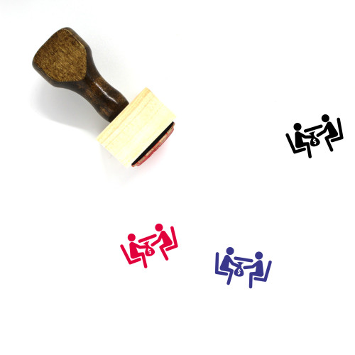 Bribery Wooden Rubber Stamp No. 12