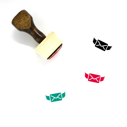 Love Letter Wooden Rubber Stamp No. 178