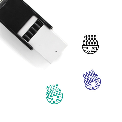 Population Self-Inking Rubber Stamp No. 29