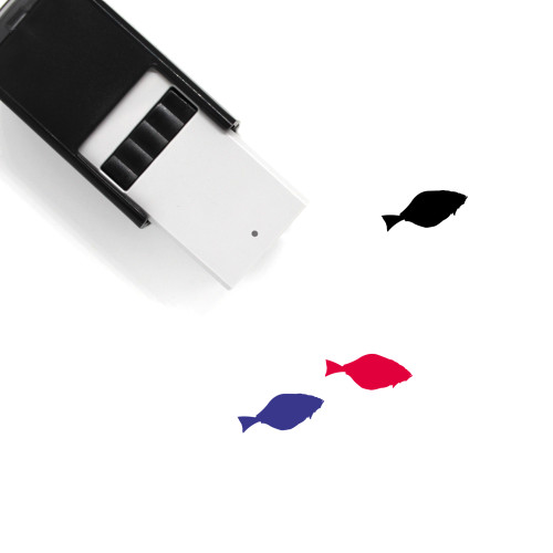 Halibut Self-Inking Rubber Stamp No. 1
