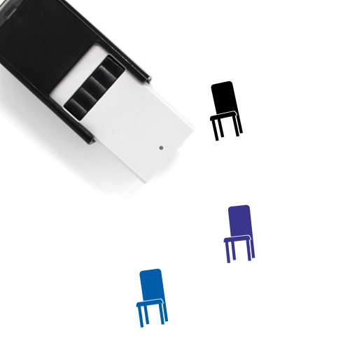 Chair Self-Inking Rubber Stamp No. 165