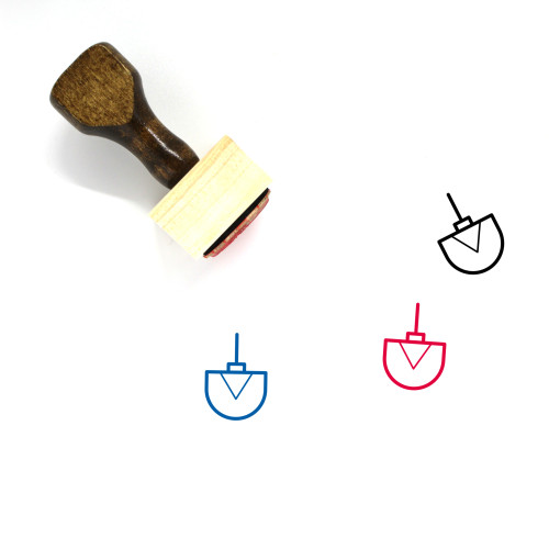 Ornament Wooden Rubber Stamp No. 180