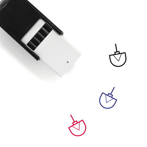 Ornament Self-Inking Rubber Stamp No. 180