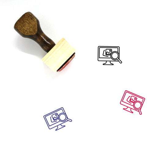 Analysis Wooden Rubber Stamp No. 64