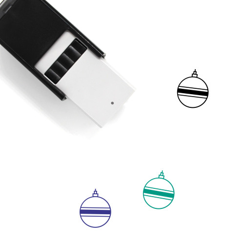 Ornament Self-Inking Rubber Stamp No. 182