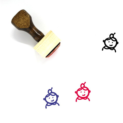 Old Wooden Rubber Stamp No. 16