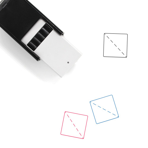 Fold Self-Inking Rubber Stamp No. 30